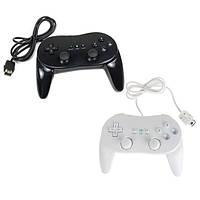 2-го поколения классический контроллер Pro для nitendo Wii черный & белый