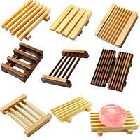 Различные природные деревянный ящик из-под мыла держатель предметы ванной