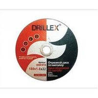Відрізний диск по металу 180 х 1.6 х 22 DRILLEX