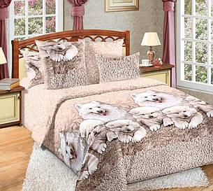 Полуторный комплект постельного белья (перкаль) Джесси, фото 2