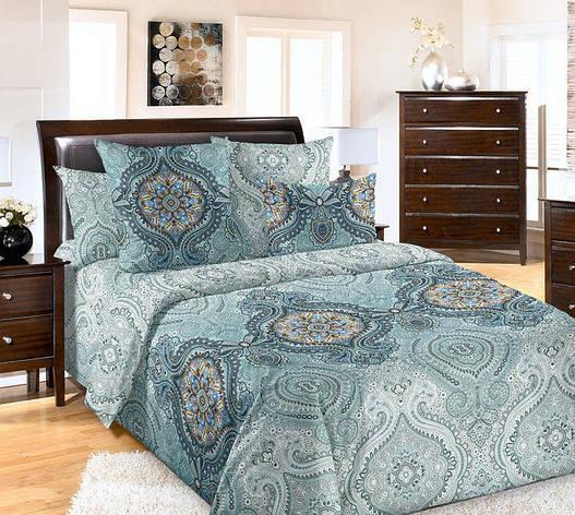 Полуторный комплект постельного белья (перкаль) Интрига, фото 2