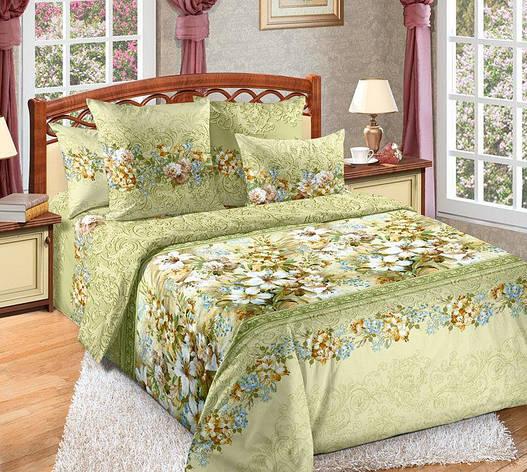Полуторный комплект постельного белья (перкаль) Юнона, фото 2