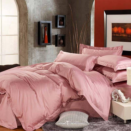 Полуторный комплект постельного белья из сатина Rose, фото 2