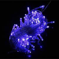 100 LED 10м синий LED строки свет украшение рождественской вечеринки 110В/220В