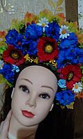 """Кокошник на голову """"Украинский Национальный 3"""", без лент, фото 1"""