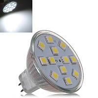 Сид MR16 3.5 W чисто-белый 12 светодиодов SMD 5050 LED лампа Лампа 12V