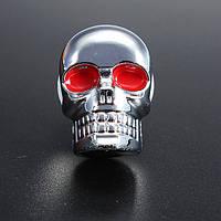 5мм хром черепа рамка номерного знака саморезы болты комплект серебра