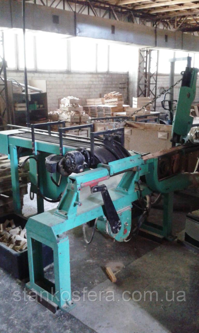 Тарная линия б/у для производства деревянных ящиков (Италия, Corali / Storti)