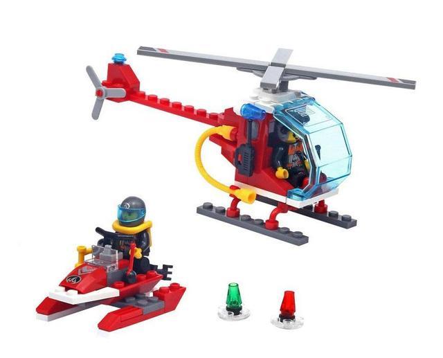Детский конструктор из серии Пожарная охрана Brick