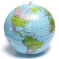 38см ПВХ надувной шар земной домашнего декора географического образования инструмент