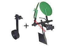 Картофелесажалка (EXPERT) для мотоблока оборотная с опорным колесом
