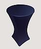 Стрейч чехол на стол 80*110 круглый из плотной ткани Спандекс