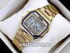Мужские (Женские) кварцевые наручные часы Skmei 1123 Old School gold, золотого цвета, фото 2