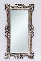 Зеркало Ajur 145х80 см, коричневый