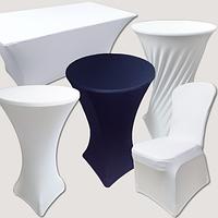 Стрейч чехлы на столы из плотной ткани, фото 1