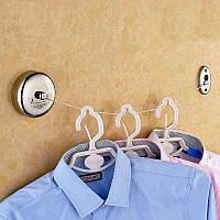 2.5м нержавеющей стали выдвижной линия крытый одежды для дома отеля