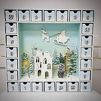 Адвент-календарь Зимняя Сказка 40 х40 см