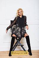 Платье-рубашка из итальянского кружева от Ffy.