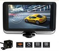 Видеорегистратор DVR K8 360 градусов с камерой заднего вида, сенсорный