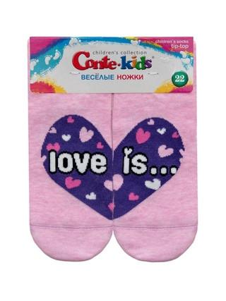 Носки детские TIP-TOP (весёлые ножки)  17С-10СП, р.22, 279 , хлопок 72%