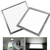 Ультратонкий 8W 12W LED Квадратный потолочный светильник 300X300 Встроенная встроенная для домашней кухни AC220