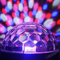 Диско шар с mp3. Разноцветный диско шар с плеером. LED Magic Ball Light