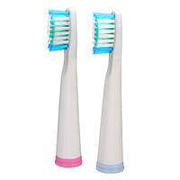SEAGO 2шт Универсальная замена электрической головки зубной щетки