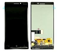 Оригинальный дисплей (модуль) + тачскрин (сенсор) для Nokia Lumia 930 (черный цвет)