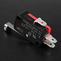 10шт 250В переменного тока 15а с V-156-1c25 переключающий контакт ролика рычага микровыключатель