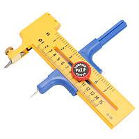 Регулируемый резак круглого круга диаметром 10 мм-150 мм Резиновая бумага для резки кожи Инструмент