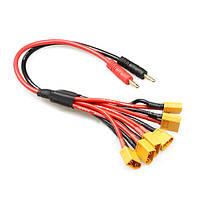 Параллельный кабель для зарядки линия электропередач заряжателя выделенной линии xt60 х6