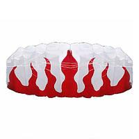 Плетенка мягкая плюс материал парашютом пламени спортивный кайт Бич