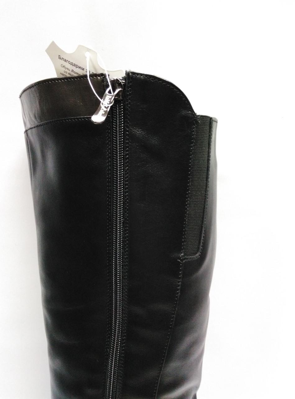 62f739dfb Кожаные черные зимние сапоги с широким голенищем. Большие размеры (39 - 43  ). Украина. , цена 2 250 грн., купить в Ровно — Prom.ua (ID#620825862)