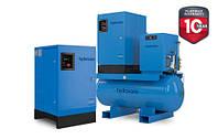 Hydrovane HV15, V15 роторно-пластинчатый компрессор 15 кВт; 8 бар - 2,21 м3/мин; 10бар - 2,01 м3/мин