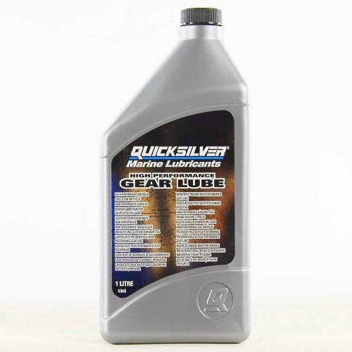 Трансмиссионное масло Quicksilver Gear Lube High Performance (1л)