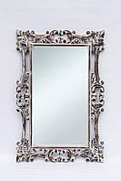 Зеркало Ajur 100х70 см, коричневое