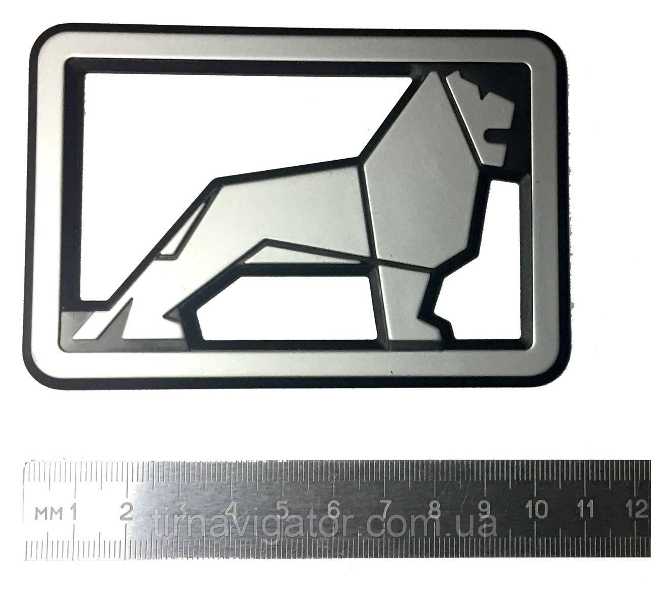Эмблема логотип MAN 108*73 мм.