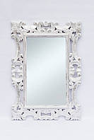 Зеркало Ajur 100х70 см, белое