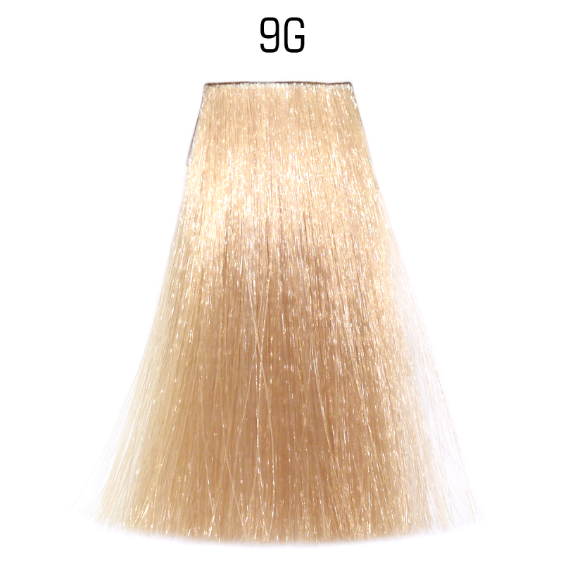 9G (очень светлый блондин золотистый) Стойкая крем-краска для волос Matrix Socolor.beauty,90ml