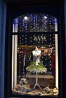 Украшение новогодних витрин и интерьеров, фото 1
