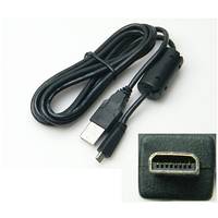 Кабель USB UC-E6 для Nikon CoolPix P4 | S3000 | S4000 | L100 | D3200 | D3300 | D7100 | D5100 | D5200 | D5300
