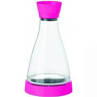 Графин для охлаждения напитков FLOW FRIENDS (ярко-розовый)