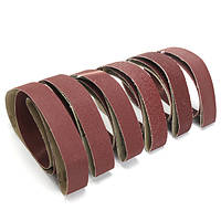 6шт Смешанные шлифовальные ленты для шлифовки 2х72 дюймов 36-150 шлифовальные шлифовальные ленты