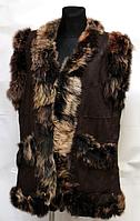 Женская теплая жилетка