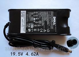 Блок питания Dell 19.5V 4.62A Inspiron 1525 1720 Latitude D600 D620 Vostro 1520 (класс А)