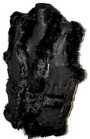 Безрукавка женская из натуральной кожи и овчины - разные окрасы