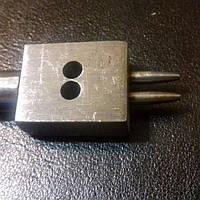 Инструмент для кожи. Шаговый пробойник 1 мм, шаг 5 мм