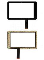 Оригинальный тачскрин / сенсор (сенсорное стекло) для Freelander PD10 3G (черный цвет, самоклейка)