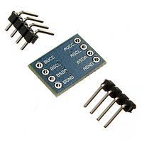 5шт I2C в Мск уровень модуль преобразования датчика 5В 3В система совместимая