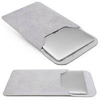 PU кожа ударопрочный ноутбук Sleeve Сумка Чехол для Apple Macbook 13 / 13.3 / 15 inch